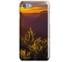 Grose valley iPhone Case/Skin