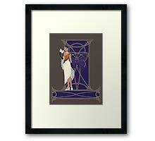 Fashion Butterfly - Great Orange Tip Framed Print
