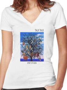 Talk Talk - Spirit of Eden Women's Fitted V-Neck T-Shirt