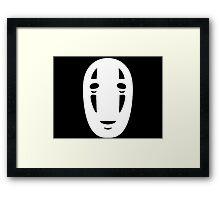 Kaonashi Spirited Away Framed Print