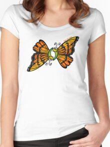 Loving Butterflies Women's Fitted Scoop T-Shirt