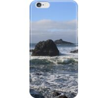 Crashing Waves and Rocky Tide Pools iPhone Case/Skin