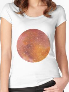Galaxy Mars Women's Fitted Scoop T-Shirt