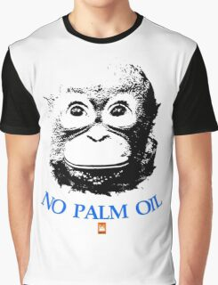 NO PALM OIL   larger image Graphic T-Shirt