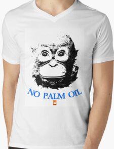 NO PALM OIL   larger image Mens V-Neck T-Shirt