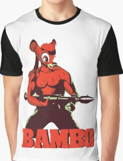 BAMBO YOUR FOREST COMMANDO Graphic T-Shirt