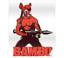 BAMBO YOUR FOREST COMMANDO Poster