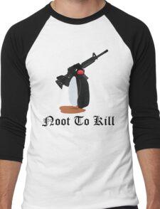 Noot To Kill Men's Baseball ¾ T-Shirt