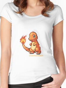 Charmander Women's Fitted Scoop T-Shirt