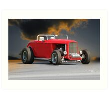 1932 Ford 'Road Warrior' Roadster Art Print