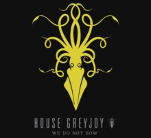 House Greyjoy Sigil by P3RF3KT