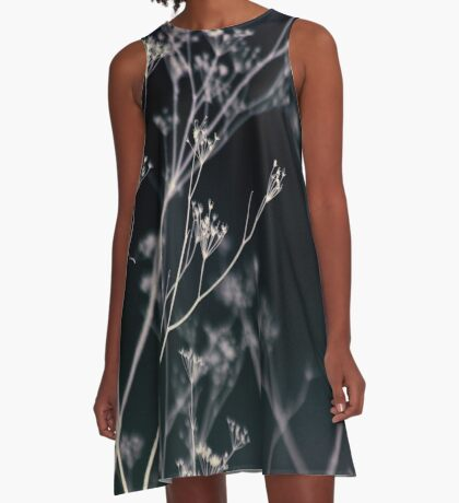 Growing in Silence A-Line Dress
