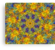 Abstract fractal patterns Canvas Print