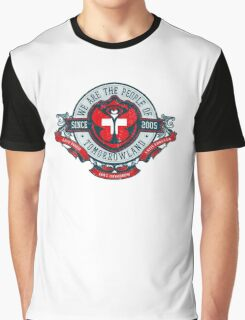 People of Tomorrowland Vintage Flags logo -  Switzerland - Suisse - Schweiz - svizzera Graphic T-Shirt