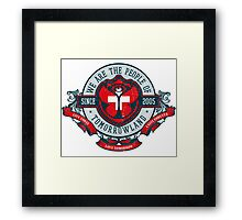 People of Tomorrowland Vintage Flags logo -  Switzerland - Suisse - Schweiz - svizzera Framed Print