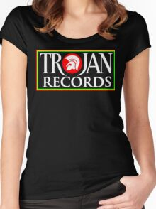 Trojan Records Women's Fitted Scoop T-Shirt