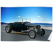 1930 Ford 'Classic Hot Rod' Roadster Poster