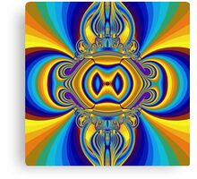 abstract fractal style colors Canvas Print