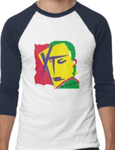 XTC - Drums and Wires Men's Baseball ¾ T-Shirt
