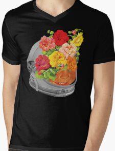 Space Boy Mens V-Neck T-Shirt