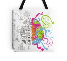 Brain Creativity Tote Bag