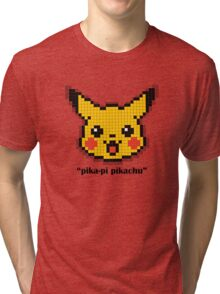 Pika-Pi Pikachu! Tri-blend T-Shirt