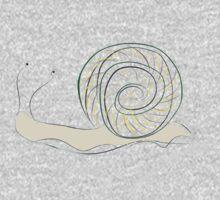 Cartoon snail One Piece - Short Sleeve