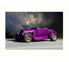 1928 Ford 'Hot Rod' Roadster Art Print