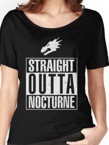 Straight Outta Nocturne Women's Relaxed Fit T-Shirt