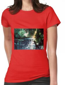 Stillness Speaks Womens Fitted T-Shirt