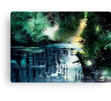 Stillness Speaks Canvas Print