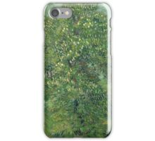 Vincent Van Gogh - Horse Chestnut Tree In Blossom. Forest view: forest , trees,  fauna, nature, birds, animals, flora, flowers, plants, field, weekend iPhone Case/Skin