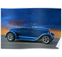 1928 Ford 'Rumble Seat' Roadster Poster