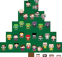 Christmas Tree of Characters by RumShirt