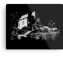 Welcome to Bates Motel Metal Print