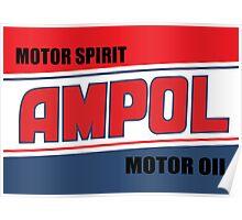 AMPOL MOTOR OILS Poster