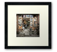 Meeting with the Boss #2 Framed Print