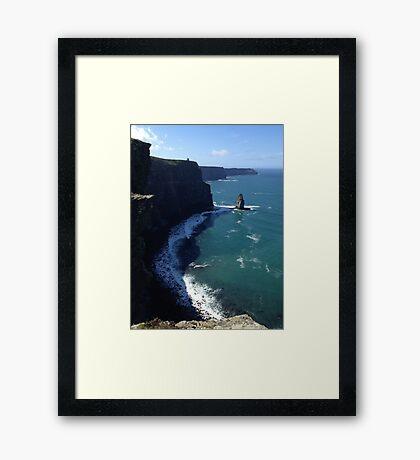 The Cliffs of Moher Framed Print