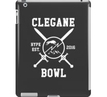 Clegane Bowl Hype Arms Print  iPad Case/Skin