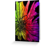 Shattered Mirror  Greeting Card