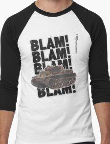 Luchs. Men's Baseball ¾ T-Shirt