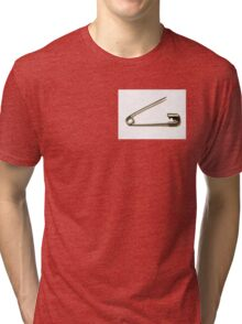 Safety Pin: Brexit Anti Racism Tri-blend T-Shirt
