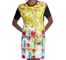 Dosenfrucht (Canned Fruit) Graphic T-Shirt Dress