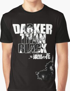 Darker Than Black: Hei & Yin Graphic T-Shirt