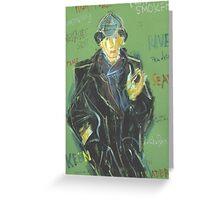 Sherlock: Sergei Lefert's drawing Greeting Card