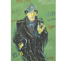 Sherlock: Sergei Lefert's drawing Photographic Print