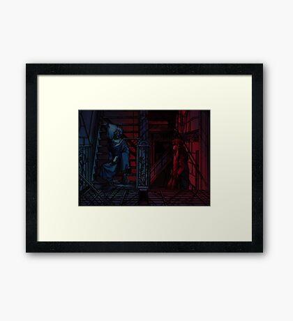Yu Yu Hakusho: Hiei & Kurama Framed Print