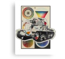 Carro Armato. Canvas Print