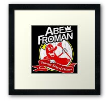 ABE FROMAN Framed Print