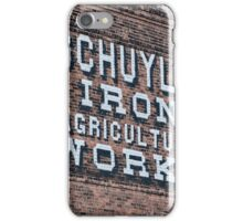 Schuyler Iron & Agricultural Works iPhone Case/Skin